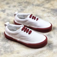 ONETOW 18ss Celine Celine 180 Lace Up Canvas Sneakers 3