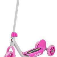 Kids Scooters Toys Girls Fun Exercise Scooter Toy Razor Kick Pink