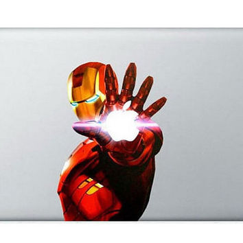 Iron Man 3  Mac Decal Macbook Decals Macbook by GreatDecal on Etsy