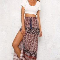 Beachy Keen Maxi Skirt