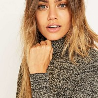 Urban Renewal Vintage Surplus Grey Acrylic Turtleneck Jumper - Urban Outfitters