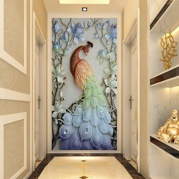 Peacock 5D Diamond Embroidery Painting Cross Stitch DIY Craft Home Decor Gift
