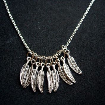 Hedwig's Feathers Necklace by trophies on Etsy