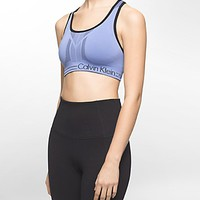 performance medium impact reversible sports bra | White Label | Calvin Klein