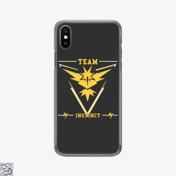 Go Team Instinct, Pokemon Phone Case