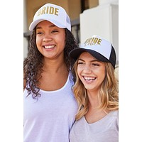 Bride and Bride Tribe | Bachelorette Party Trucker Hats