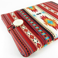 MacBook Air Case, MacBook Air Sleeve, MacBook Air 13 Case, MacBook Air 13  Sleeve, 13 Inch MacBook Case - Aztec, Tribal, Navajo