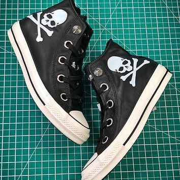 Mastermind Japan X Converse All Star 100 Hi Chuck Taylor Style 2 Sneakers - Sale