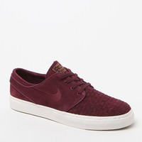 Nike SB Zoom Stefan Janoski Elite Shoes - Mens Shoes - Maroon/White