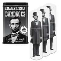 Abraham Lincoln Bandages - Whimsical & Unique Gift Ideas for the Coolest Gift Givers