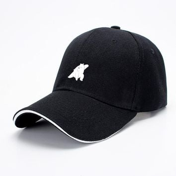 Ice Bear Fight, We Bare Bears Baseball Cap