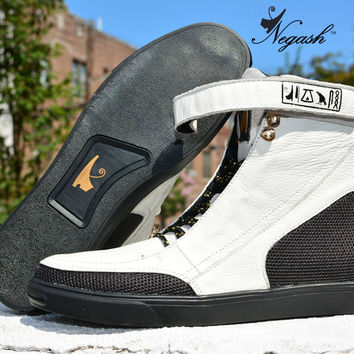 Negash Hotep 3.0 White Boot
