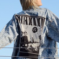 Vintage Levi's Denim Nirvana Jacket