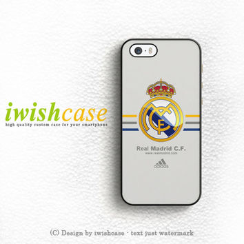 Real Madrid Club De Fútbol La Liga Spanyol Logo iPhone 5 5S 5C Case Cover