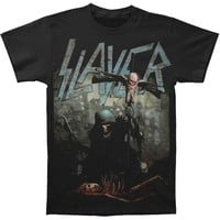 Slayer Men's  Soldier Cross T-shirt Black Rockabilia