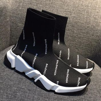 Balenciaga Women Fashion Casual Socks Shoes 5