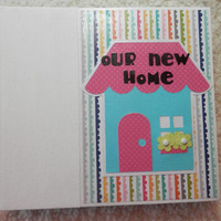 6x6 New Home Scrapbook Album Photo Album