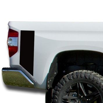 Two Bedside Decals stripes Vinyl Sticker Decal: fits 2014-2018 Toyota Tundra