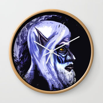 The old elf Wall Clock by Moonlit Emporium