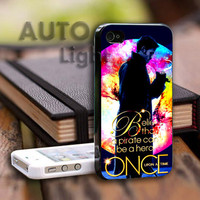 Once Upon a Time Captain Hook Believe - iPhone Case Samsung Case and Styles Phone.AUTOLIGHT.