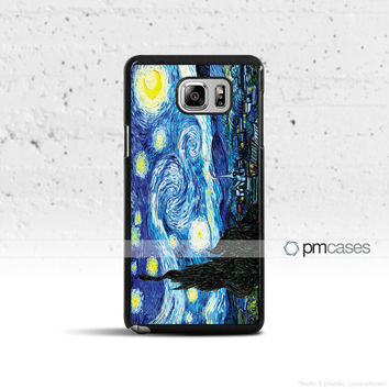 Van Gogh Starry Night Case Cover for Samsung Galaxy S5 S6 S7 S8 Plus Edge Active Note 4 5 7
