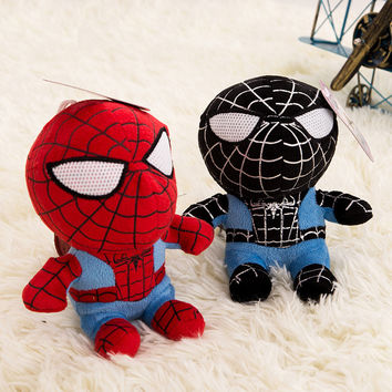 Spiderman Batman Plush Toys Pillow Colorful insect reptile Caterpillars Millennium Bug Doll Toy
