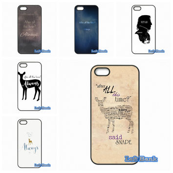 After All This Time Harry potter quotes Phone Cases Cover For Apple iPhone 4 4S 5 5S 5C SE 6 6S 7 Plus 4.7 5.5 iPod Touch 4 5 6
