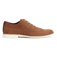 H&M Brogue-patterned Derby shoes $59.99