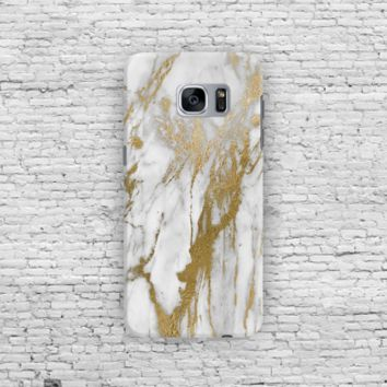 Gold White Marble