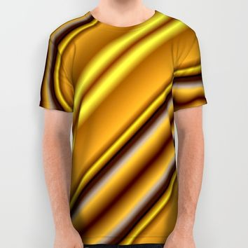 The Golden Era All Over Print Shirt by Lena Photo Art