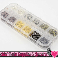 7mm JUMP RING MIX Open 7mm x 0.7mm with Storage Box