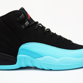 Air Jordan 12 Retro Gamma Blue GS Basketball Shoes <>