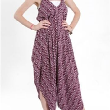Love Stitch Printed Genie Jumpsuit 70130MQR