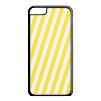Yellow stripe iPhone 6S Plus Case
