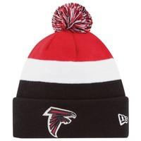 New Era Atlanta Falcons 2013 On-Field Player Sideline Sport Knit Hat - Black/Red