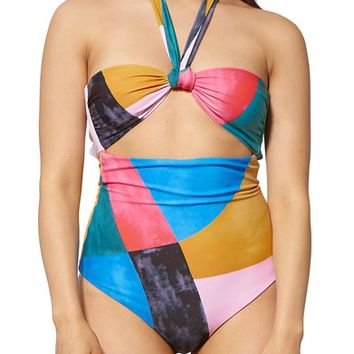 Mara Hoffman Cleo Cutout One-Piece Swimsuit | Nordstrom