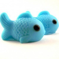 Little Blue Fish Soap | KarensSoaps - Bath & Beauty on ArtFire