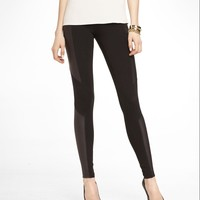 SCUBA INSET STRETCH COTTON LEGGING
