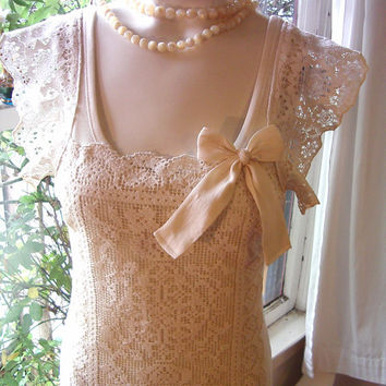 lace top valentine mon cheri french lace blouse shirt ivory white cream valentines day gift