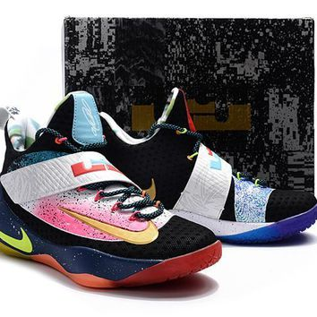 Special Note Version Nike LeBron James Soldier 11 ¢û¡±Limited Edition¡°Basketball Shoe