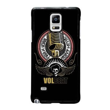 VOLBEAT HEAVY METAL Samsung Galaxy Note 4 Case Cover