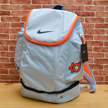 NIKE KD ELITE BACKPACK ICE BLUE OKC THUNDER 5 V KEVIN DURANT BAG bhm BZ9421-484