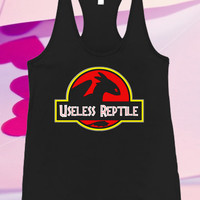 Useless Reptile Jurassic Park Logo For Tank top women and men unisex adult