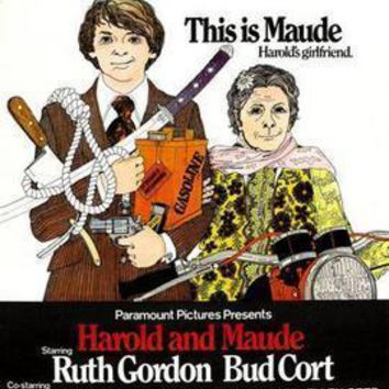 Harold And Maude Movie Poster Standup 4inx6in