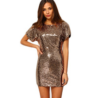 Dazzling Sequined Mini Dress