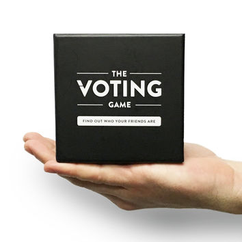 The Voting Game - The Adult Party Game About Your Friends