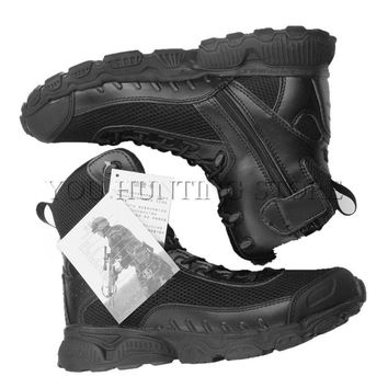 Military Tactical Boots Outdoor Desert Combat Outdoor Army Hiking Boots Mesh Breathabl