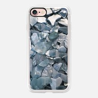 Pearlesque Smokey Blue iPhone 7 Case by Lisa Argyropoulos | Casetify