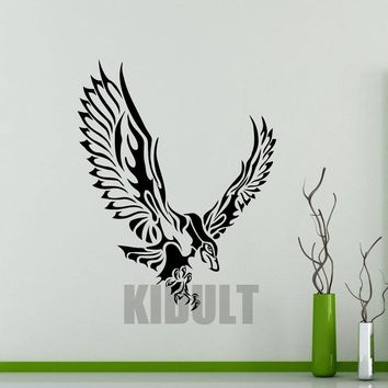 Creative Seahawks Seahawks Eagle Decal Wallpaper Birds Animal Family Home-room Art Deco Wall Stickers Vinyl Stickers