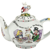 Alice in Wonderland 2Cup Teapot